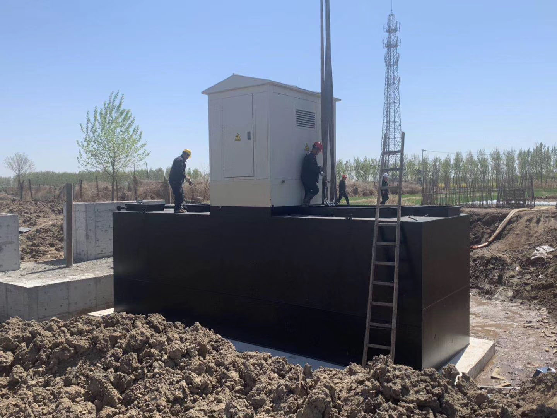 慈湖高新区林里社区农村生活污水一体化设备